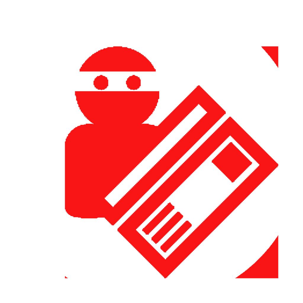 icon credit card thief
