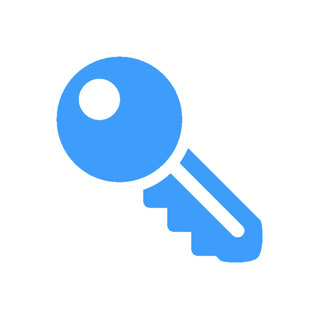icon key of universal right