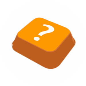 icon keyboard with question mark