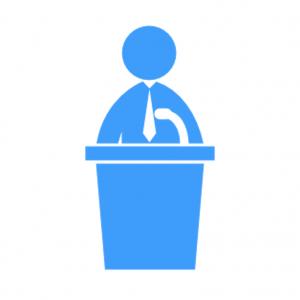 icon political speech
