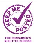 Logo Keep me Posted UK