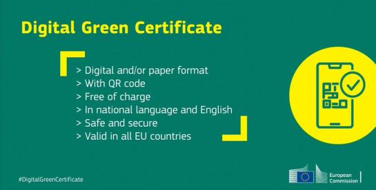 EU Digital Green certificate